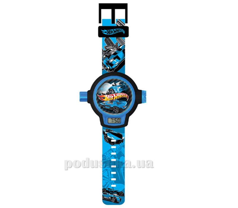 Часы Hot Wheels с проектором на 20 изображений и 3Д очками