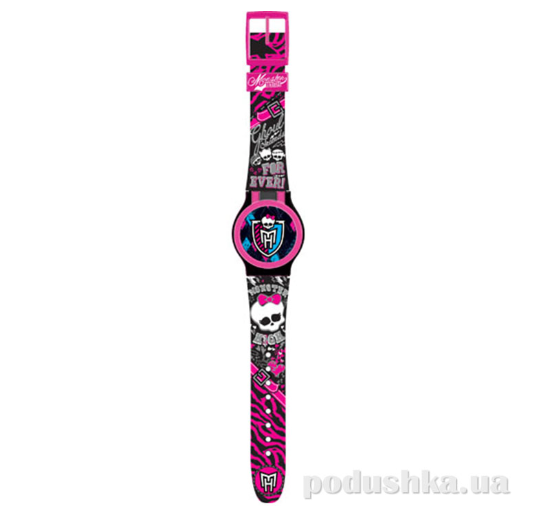 Часы Monster High с набором сменных панелей для циферблата и 5 функций MHRJ15