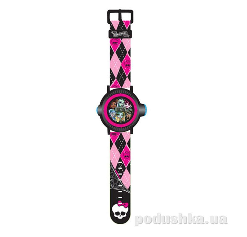 Часы Monster High с проектором на 10 изображений 5 функций MHRJ13