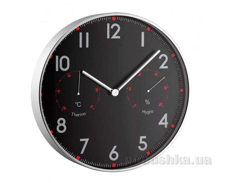 Часы настенные TFA 603004 с термометром и гигрометром