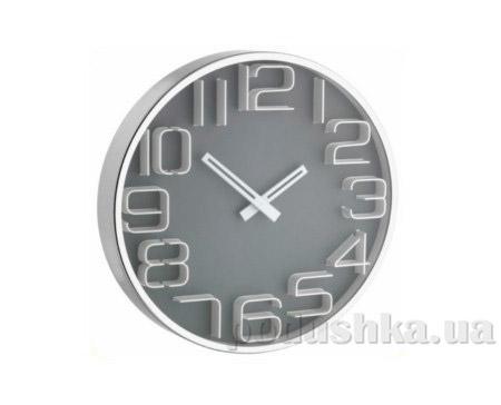 Часы настенные TFA 60301610 серые