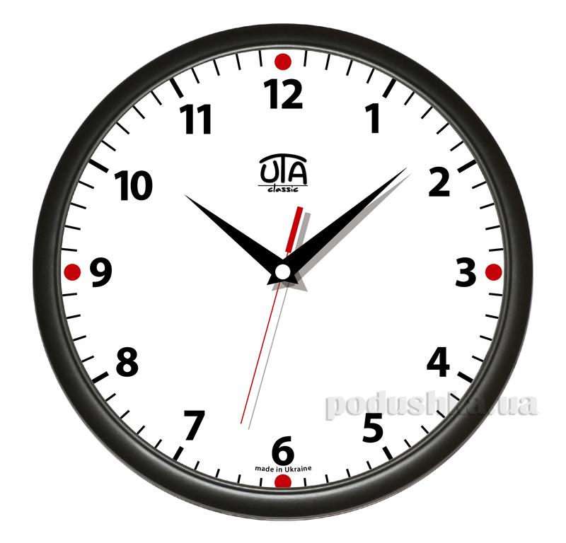 Часы настенные ЮТА Классика 300х300х45мм 01 B 02