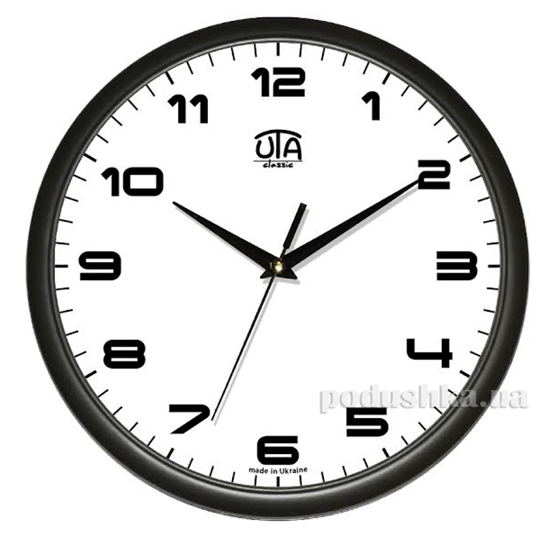 Часы настенные ЮТА Классика 300х300х45мм 01 B 38