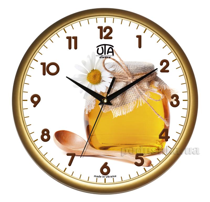 Часы настенные ЮТА Классика 300х300х45мм 01 G 04
