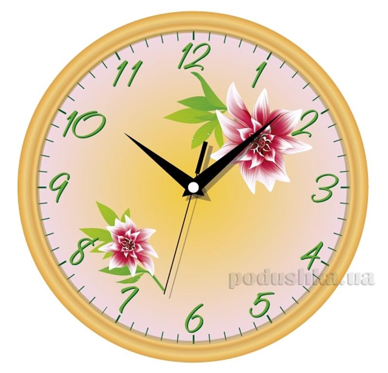 Часы настенные ЮТА Классика 300х300х45мм 01 G 10