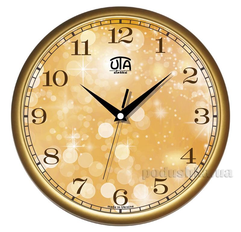Часы настенные ЮТА Классика 300х300х45мм 01 G 13