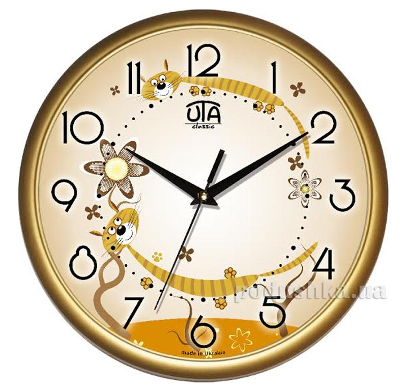 Часы настенные ЮТА Классика 300х300х45мм 01 G 32