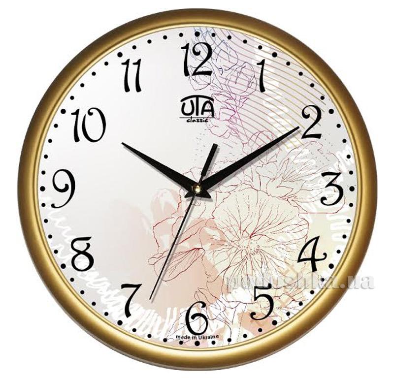 Часы настенные ЮТА Классика 300х300х45мм 01 G 36