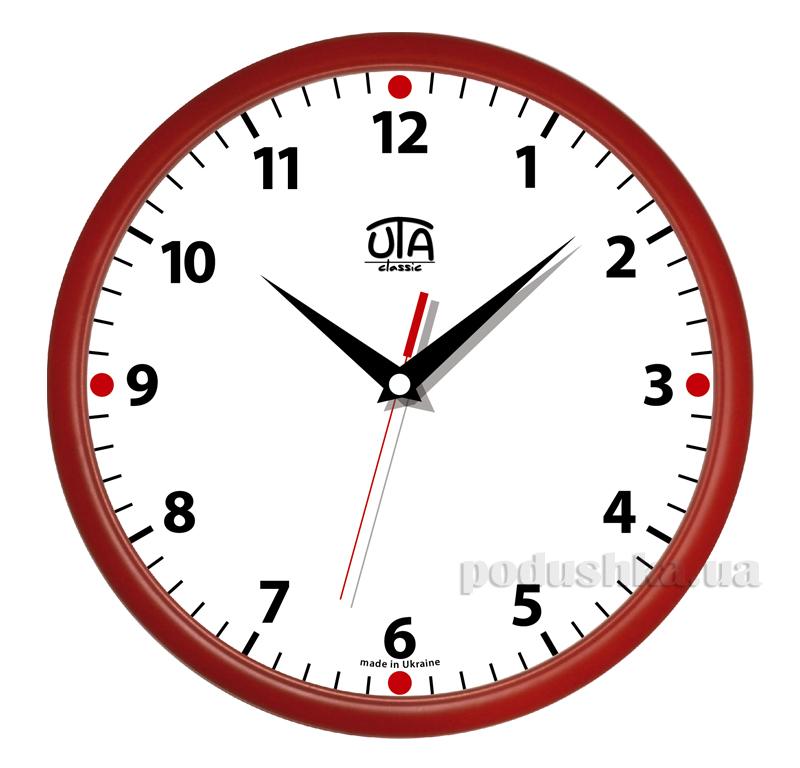 Часы настенные ЮТА Классика 300х300х45мм 01 R 02