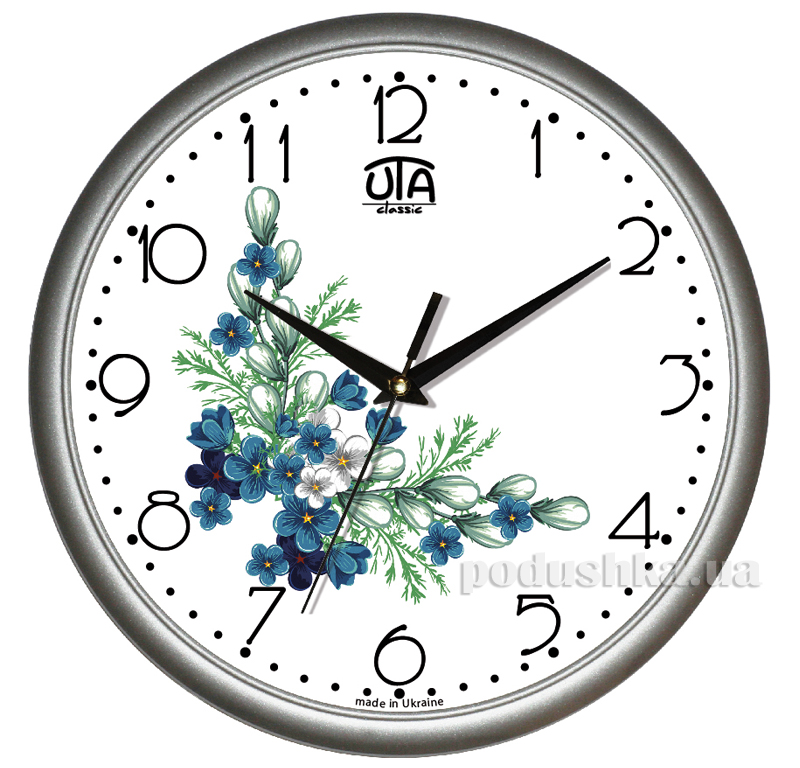 Часы настенные ЮТА Классика 300х300х45мм 01 S 27