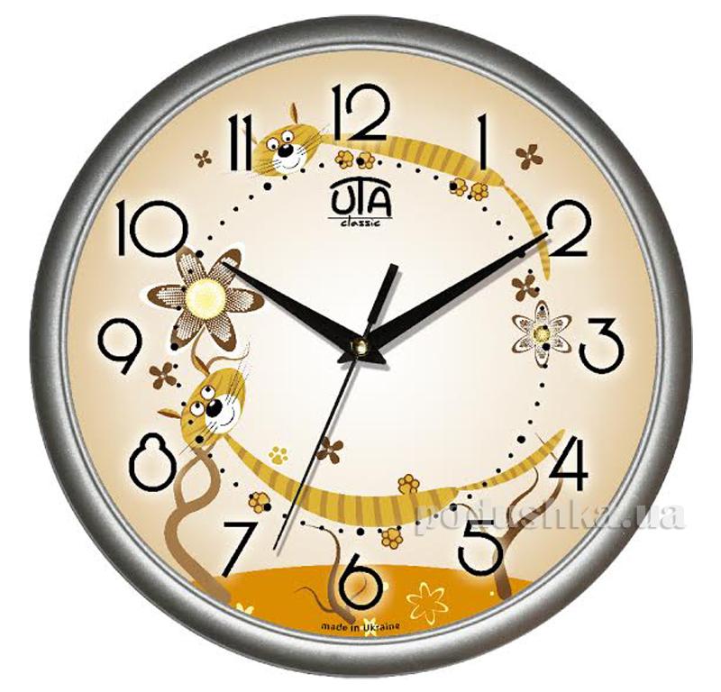 Часы настенные ЮТА Классика 300х300х45мм 01 S 32