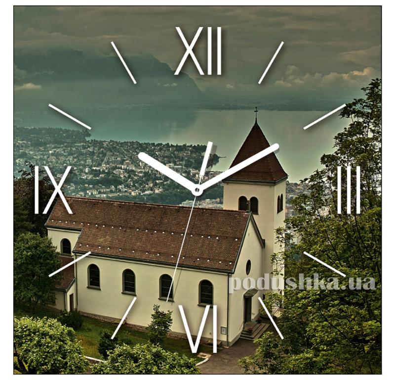 Часы настенные ЮТА Панорама 300Х300Х16мм AR-007