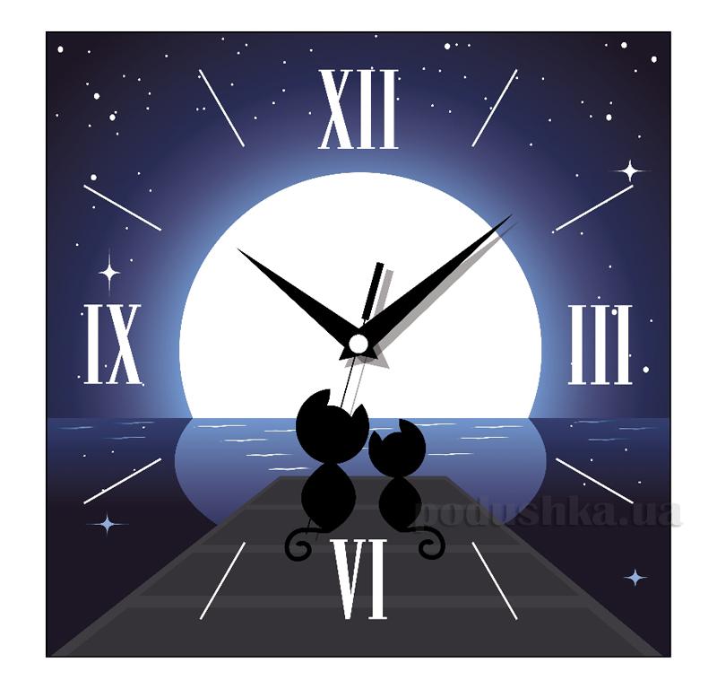 Часы настенные ЮТА Панорама 300Х300Х16мм F - 004