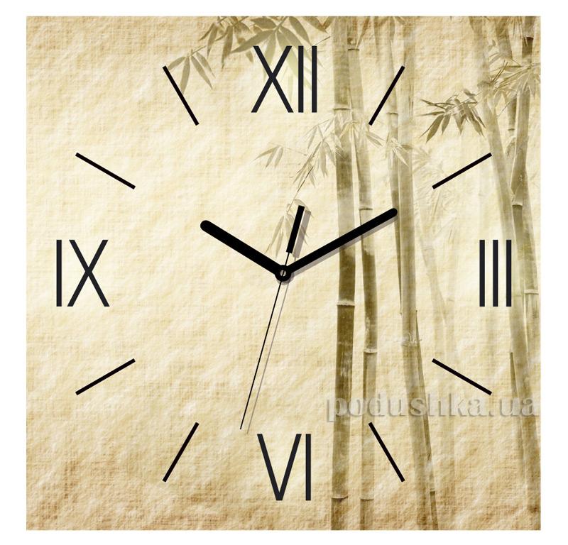 Часы настенные ЮТА Панорама 300Х300Х16мм FL-004