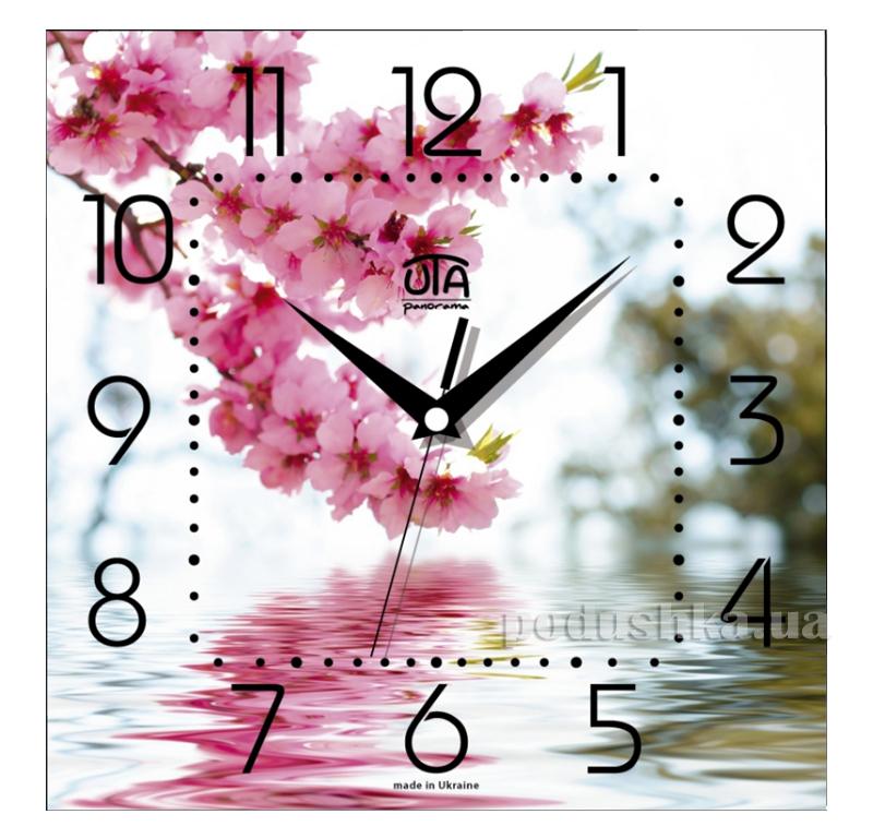 Часы настенные ЮТА Панорама 300Х300Х16мм FL-010
