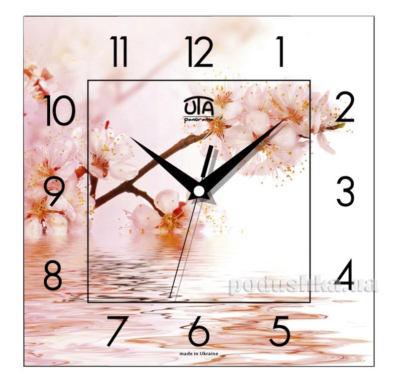 Часы настенные ЮТА Панорама 300Х300Х16мм FL-011
