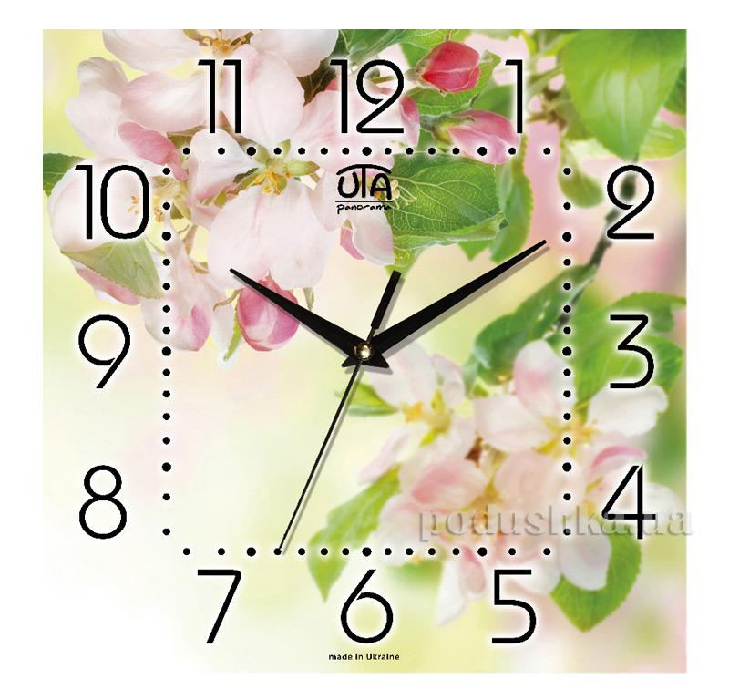 Часы настенные ЮТА Панорама 300Х300Х16мм FL-012