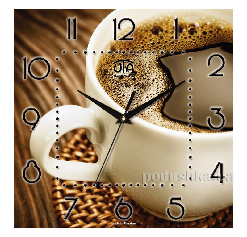 Часы настенные ЮТА Панорама 300Х300Х16мм K-006