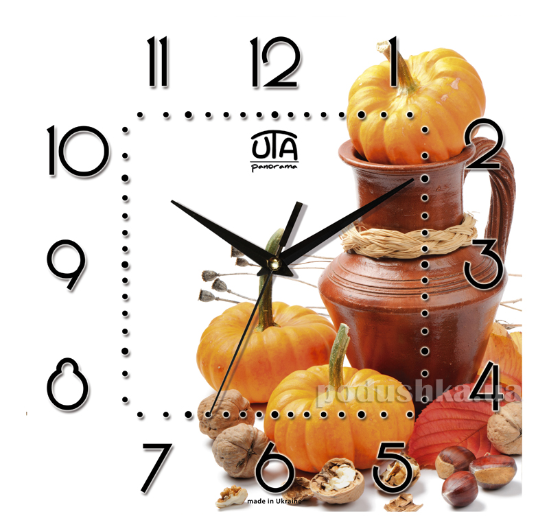 Часы настенные ЮТА Панорама 300Х300Х16мм K-010