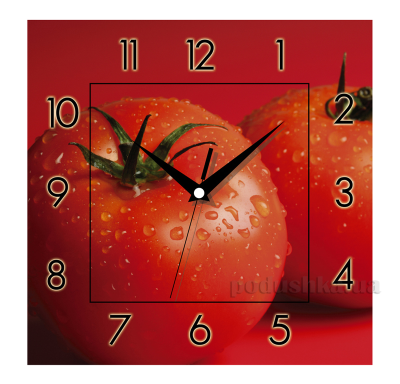Часы настенные ЮТА Панорама 300Х300Х16мм K-011