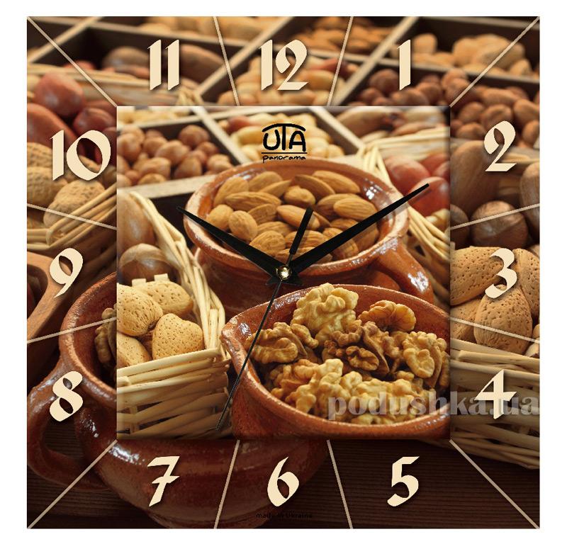 Часы настенные ЮТА Панорама 300Х300Х16мм K-019