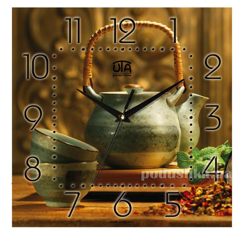 Часы настенные ЮТА Панорама 300Х300Х16мм K - 012