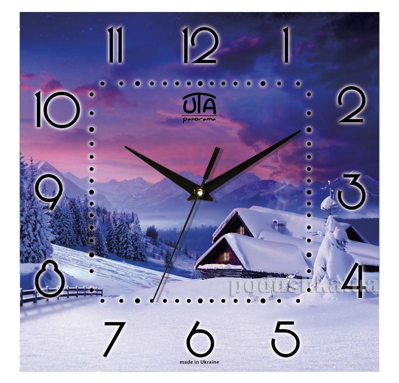 Часы настенные ЮТА Панорама 300Х300Х16мм NY - 002
