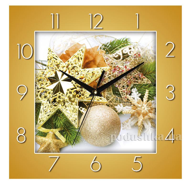 Часы настенные ЮТА Панорама 300Х300Х16мм NY - 003