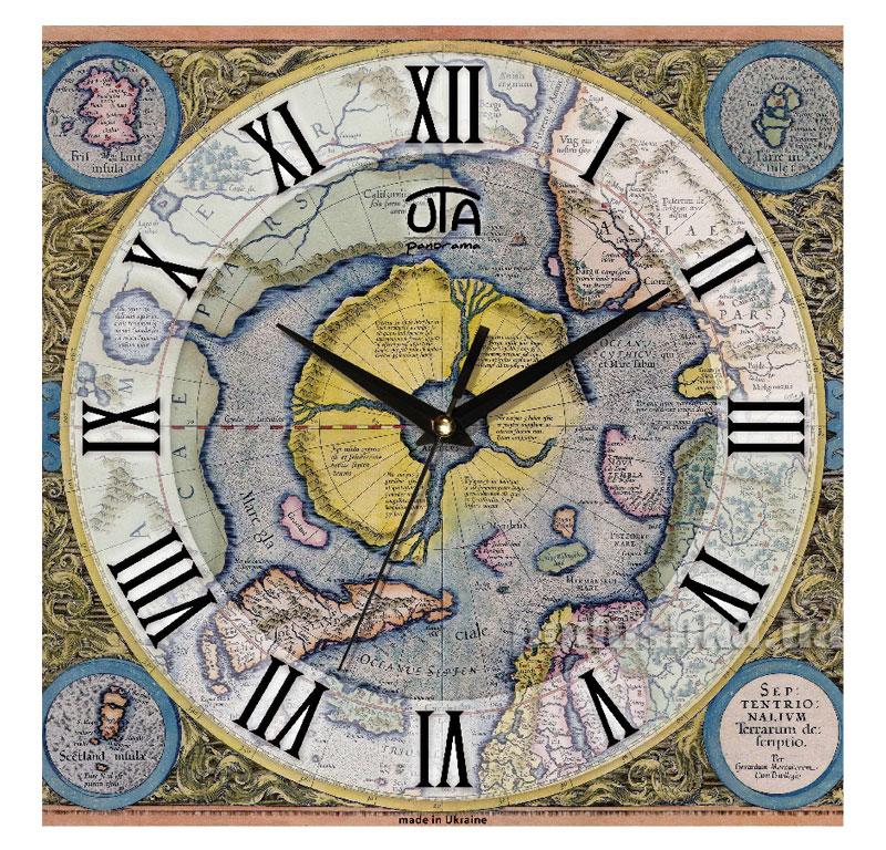 Часы настенные ЮТА Панорама 300Х300Х16мм OF 001