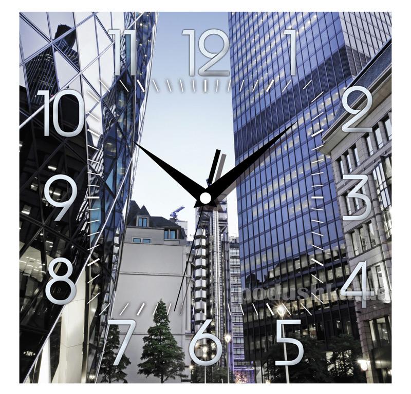 Часы настенные ЮТА Панорама 300Х300Х16мм OF - 003