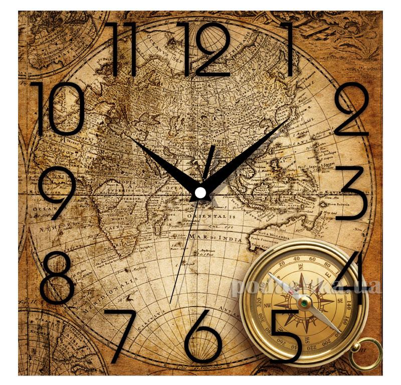 Часы настенные ЮТА Панорама 300Х300Х16мм OF - 005