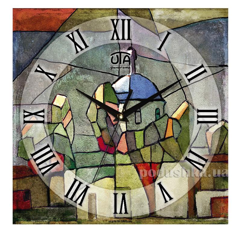 Часы настенные ЮТА Панорама 300Х300Х16мм P 004