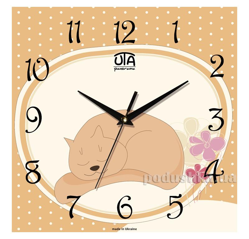Часы настенные ЮТА Панорама 300Х300Х16мм СН-003