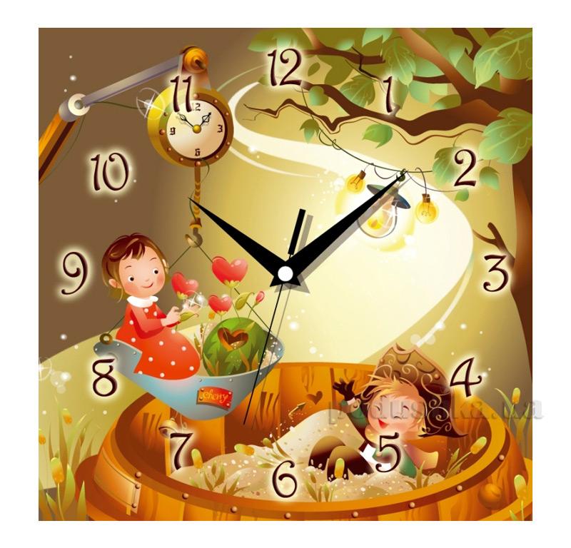 Часы настенные ЮТА Панорама 300Х300Х16мм СН-005