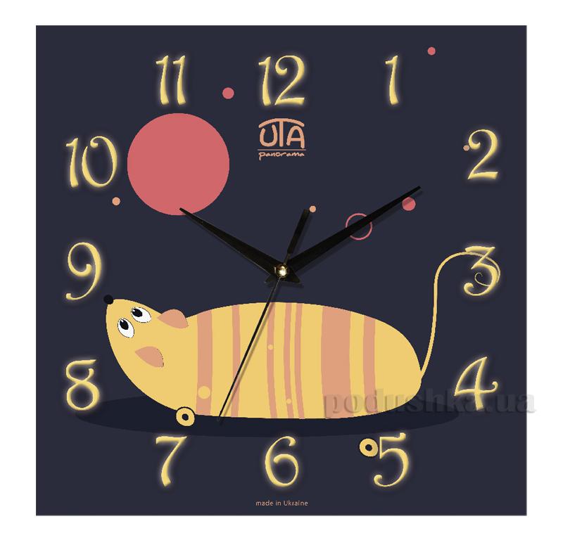 Часы настенные ЮТА Панорама 300Х300Х16мм СН-006