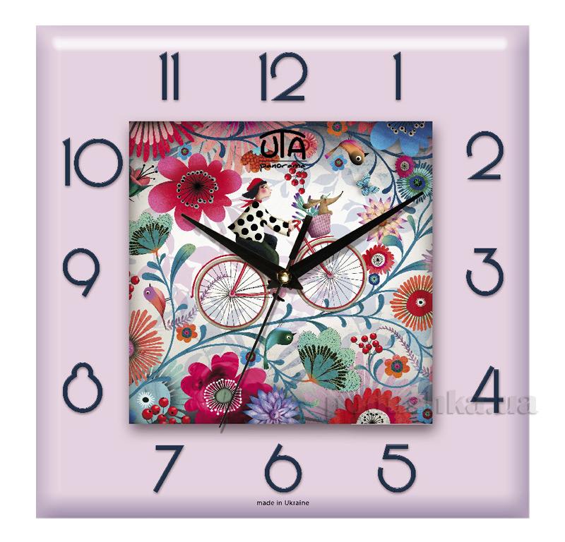 Часы настенные ЮТА Панорама 300Х300Х16мм СН-007