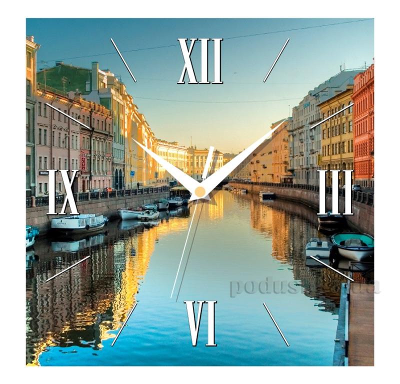 Часы настенные ЮТА Панорама 300Х300Х16мм T - 002