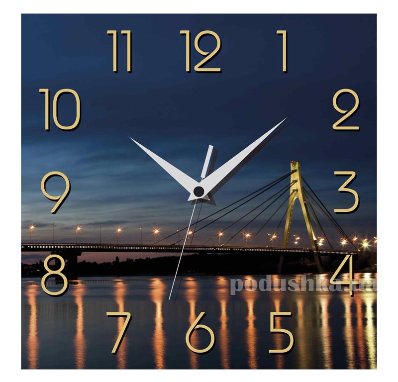 Часы настенные ЮТА Панорама 300Х300Х16мм UA - 006