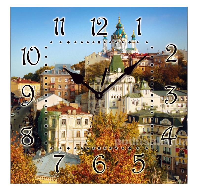 Часы настенные ЮТА Панорама 300Х300Х16мм UA - 007