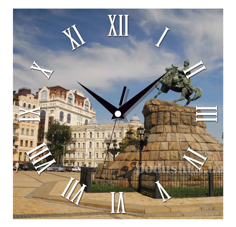 Часы настенные ЮТА Панорама 300Х300Х16мм UA - 012