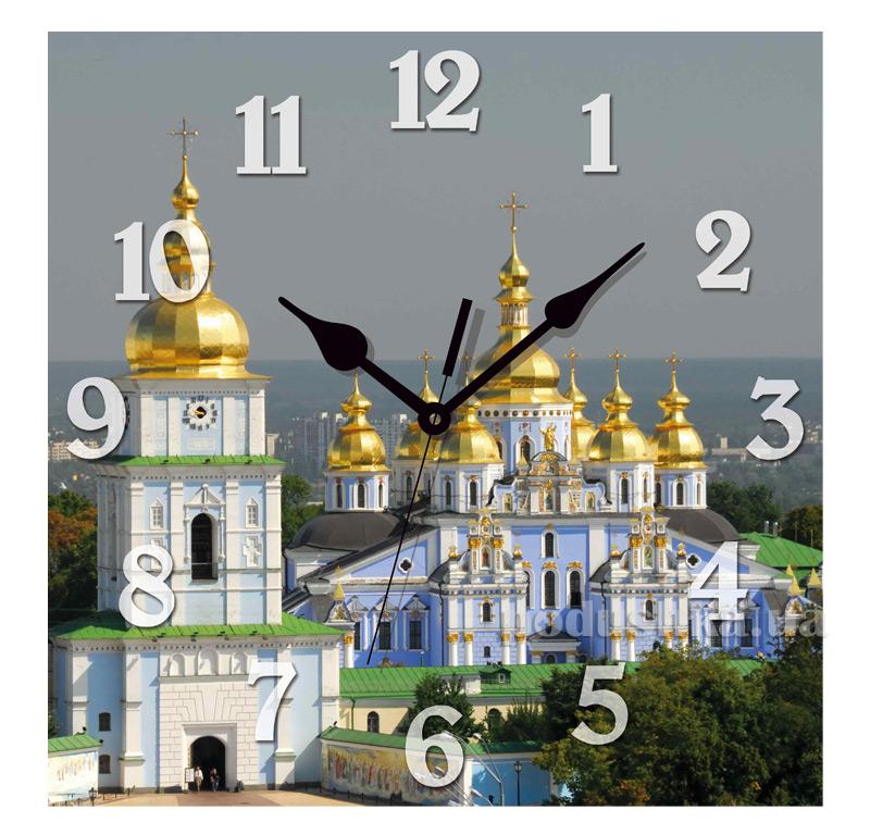 Часы настенные ЮТА Панорама 300Х300Х16мм UA - 013