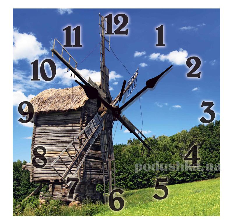 Часы настенные ЮТА Панорама 300Х300Х16мм UA - 014