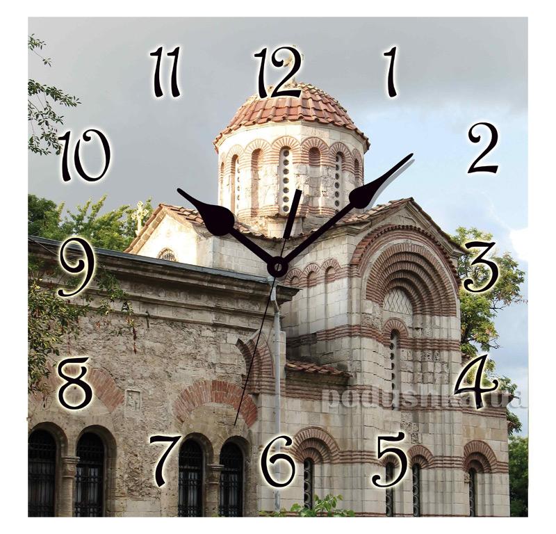 Часы настенные ЮТА Панорама 300Х300Х16мм UA - 018