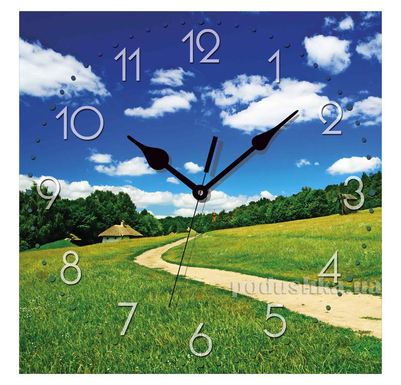 Часы настенные ЮТА Панорама 300Х300Х16мм UA - 020
