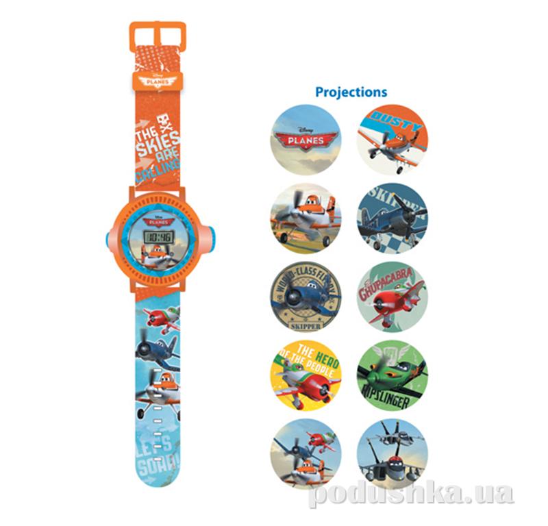 Часы Самолетики с проектором на 10 изображений 5 функций Mattel PNRJ13
