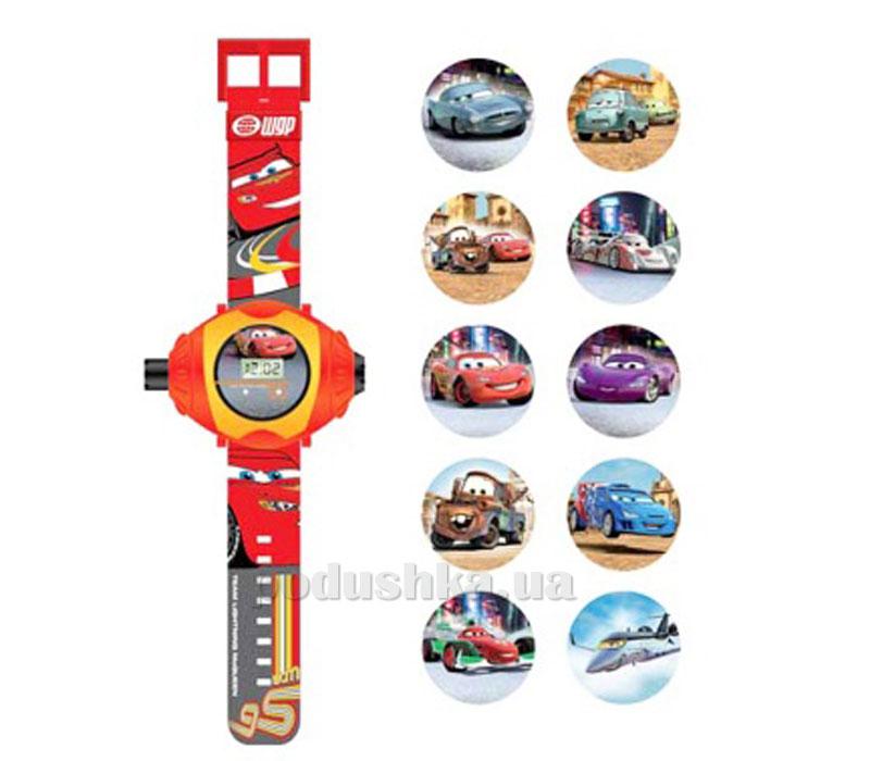 Часы Машинки с проектором на 10 изображений