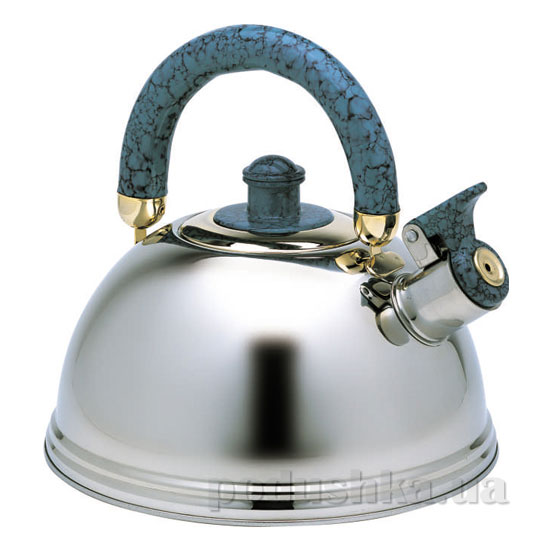 Чайник 2,3 л из нержавеющей стали со свистком Kamille 0673