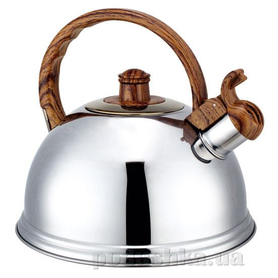 Чайник 2,7 л из нержавеющей стали со свистком Kamille 0672