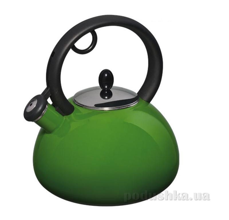 Чайник эмалированный Capriccio Granchio 88618 Verde