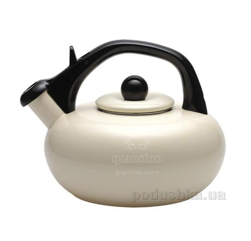 Чайник эмалированный Sfera Granchio 88610 Avorio